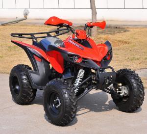 Four Wheels Automatic 200CC Sport ATV , Kandi Electric Start Quad Bike Manufactures