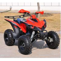 Red Chain Drive Kandi 150CC ATV Four Wheels , Electric Youth ATV Manufactures