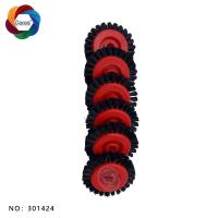 High quality and  good price nylon brush wheel 50*8*11 for offset printing machine Manufactures