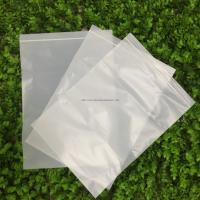 100% Biodegradable Corn Starch Compostable Ziplock Bag White Customizable PLA Manufactures