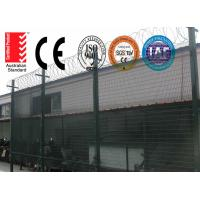 High Density 358 Prison Wire Fence High Security ,Top With Razor For Africa Market Manufactures
