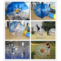 Athletic Toys 0.8mmPVC 1.5 m Colorful  Inflatable Collision Ball For Sporting Races Manufactures