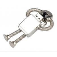 2.0 Robot Metal Usb Flash Drive , 128GB 512GB 4GB 64GB Creativo Usb Pendrive Manufactures