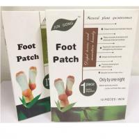 China detox foot patch in box packing Manufactures