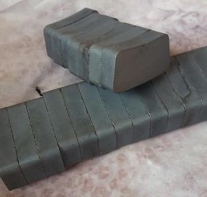 Custom Arc Curve Shape C5 Grade Navigation Light Ferrite Motor Magnet Manufactures