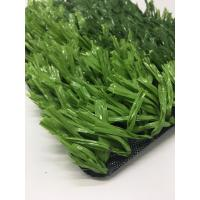 Fibrillated Football Athletic Artificial Turf , Synthetic Grass For Soccer Fields Manufactures