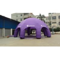 Trapaulin Inflatable Party Tent Double line In Outdoor For Exhibition / Event / Sport Manufactures