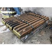 Durable Mc120z Swing Jaw Plate With Manganese Steel Mn18cr2 Grade Manufactures