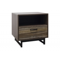 Wood Bedside Table For Placing A Lamp Manufactures