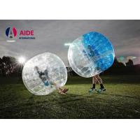 Water Walking Floating Roller Body Zorb Ball For Pool Games , Clear Inflatable Ball Manufactures