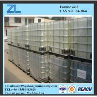 Colorless liquid Formic Acid 85%,CAS NO.:64-18-6 Manufactures