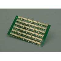 Golden Finish Single Sided PCB FR4 Green Soldermasking 1oz Copper Manufactures