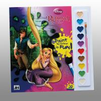 Disney Children Perfect Bound Book Printing With Paint / Brush Manufactures
