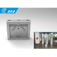 China 110V Autoamtic Card Reader Tripod Access System , Airports Stainless Steel Turnstiles on sale