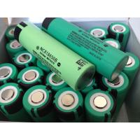 3.7V Panasonic original 18650 Lithium ion battery (NCR18650B, 3.7V 3400mAh) Manufactures