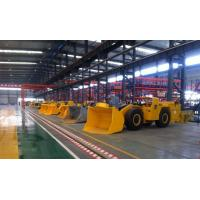 Quality 4 M³ Underground Mining Loader , Mining Front End Loader Three - Point Suspension for sale