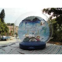 CE Outdoor Snow Globe Inflatable / Airblown Snow Globe For Events Manufactures