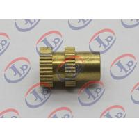 0.315in X 0.473in CNC Turned Parts Brass Knurled Bolts With Through Hole Manufactures