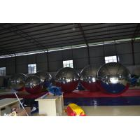 Fireproof Large Inflatable Mirror Ball Advertising Balloons Good Tension Manufactures