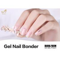 High Viscosity Soak Off Gel Nail Primer , Long Lasting Nail Polish Bonder Manufactures