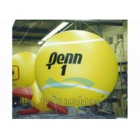 Quality Waterproof Sports Themed Inflatable Gym Ball / Tennis Ball With Customized Size for sale