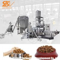 China Twin Screw Animal Feed Processing Machine Lively Shape Plant Simens Motor on sale