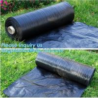 Anti-UV Landscape Fabric PP Woven Agricultural Weed Control,PP Woven Landscape Fabric Garden Weed Barrier Mat, bagplasti Manufactures