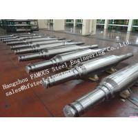 High Hardness And Durability Forged Alloyed Steel Work Roller For Cold Rolling Factory Manufactures