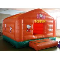 Double Sewing PVC Tarpaulin Inflatable Jumping Castle Hello Kitty Bounce House Manufactures