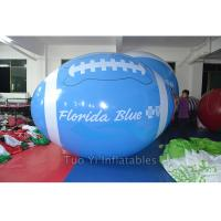 School Sports Meeting Custom Shaped Balloons Rugby Shape 1M Diameter Manufactures