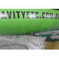 Quality 8m Green Inflatable Blimp Airship / Inflatable Helium Balloon for sale