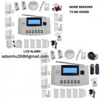 LCD Security Alarm System|WIRELESS and WIRE ALARM COMPATIABLE|HOME ALARM|FIRE ALARM|INTRUDER ALARM|INTRUSION ALARM|GSM ALARM|AUTO-DIAL ALARM Manufactures