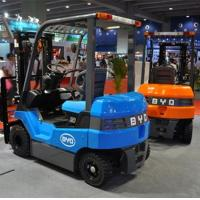 Simple Structure BYD Electric Battery Powered Forklift High Efficiency Manufactures