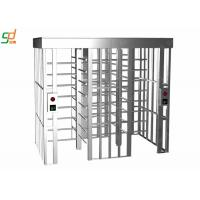 High Security Prison Full Height Turnstiles Anti - crawling With Hydraulic Damper Manufactures