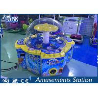 Rainbow Paradise Coin Operated Claw Machine 2 Player Cylinder Type Manufactures