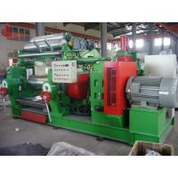 Emergency brake High Security Electric Open Mill For Rubber Two Roll 560 x 1530mm Manufactures