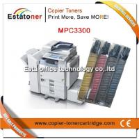 Compatible Mp C3300 Cyan Ricoh Toner Cartridges For Mp C2800 Manufactures