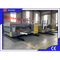 4 Color PLC Corrugated Flexo Printing Machine Manufactures