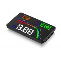 Buzzer Alarm Heads Up Display Unit , Universal Head Up Display Fuel Consumption Manufactures