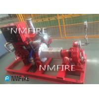 China diesel engine DRIVER 750usGPM@81M   END SUCTION Pump set  Ul Listed with jockey on sale