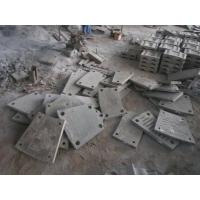 High Cr Steel End Liner Castings HRC43-52 Hardness Abrasion Resistance Manufactures