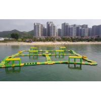 inflatable water obstacle course floating obstacle course water sport water sport toys Manufactures