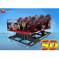 Back Poking / Air Injection 5D Motion Theater Mobile Cinema Truck 2.25KW 220V Manufactures