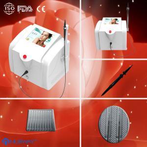 Portable Spider Veins Removal Machine 0.01mm(Diameter) 150W 30MHz Manufactures
