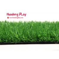 Curve Wile Fake Grass Lawn Low Installation Cost , Realistic Artificial Grass Environmental Protection Manufactures