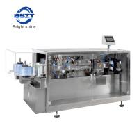 Food industry Plastic Ampoule Packing Machine with two filling head