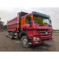 HOWO Used 10 Wheel Dump Trucks For Sale 375hp Power Manufactures