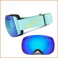 2020 extreme sports Ski goggles over glasses factory direct sale ski goggles snowboard snowboarding eyes protect Manufactures
