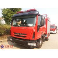 Gross Weight 7800kg Rescue Fire Truck , Human Engineering Design Foam Fire Equipment Truck Manufactures
