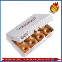 Custom Printing Color Paper Food Box for Donuts Packaging Use Manufactures